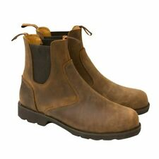 MERLIN STOCKWELL MENS BROWN MOTORCYCLE BOOT UK 9