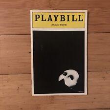 Phantom Of The Opera Playbill (July 1990)