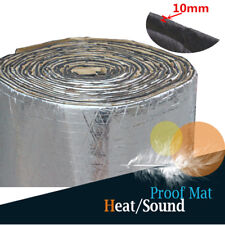 "78""X40"" Car Door Ceiling Noise Insulation Foam Carpet Hood Heat Proof Mat Custom"