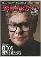 Rolling Stone Magazine ~ Elton Remembers February 17,2011 ~ Issue 1124 No Label
