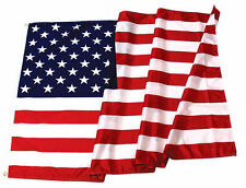 3X5ft American Flag- MADE IN THE USA- Poly/Cotton- Outdoor Quality-Brass Grommet