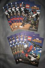 Toys R Us Lot Of (10) LEGO Marvel Super Heroes Thor & Spider-Man 2 In 1 Comic