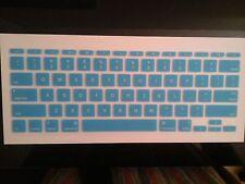 "Ultra Thin Keyboard Protector Skin for Apple Macbook Air 11.6"" Blue"