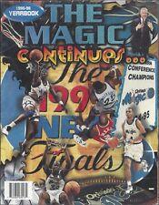 Vintage The Magic Continues Orlando Magic NBA Basketball 1995-96 Yearbook