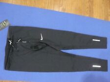 Men's Nike Dri-fit Power Tech Running Tights Reflective 934097 010 Size L