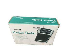 Radio Shack AM/FM Pocket RADIO 12-464 Tone-Control