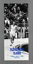>1990 Steve Prefontaine Classic PRE CLASSIC TICKET BROCHURE with PHOTO, Scarce!