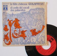 """Vinyle 45T Quilapayun  """"El canto del cuculi"""""""