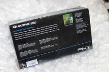 PNY NVIDIA 2000 VCQ2000-PB 1GB GDDR5 NEW SEALED BOX free shipping