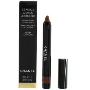 Chanel Pink Lipstick Crayon 19 Au Naturel Le Rouge De Couleur Brand New in Box