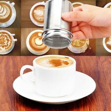 Stainless Chocolate Shaker Cocoa Flour Icing Sugar Powder Coffee Sifter Tea Make