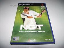 Next Generation Tennis NGT PS2 PAL Preloved *Complete*