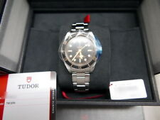 Nuova Tudor Nero Bay Fifty-Eight 39mm On Acciaio Inox Bracciale - 79030N - Nave