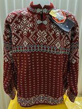 NWT Dale of Norway 100% Wool Windstopper Sweater - Haugestol Unisex Size XL