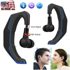 Bluetooth Headset Hands-free Earphone w/ Mic for iPhone Samsung A22 A42 A52 A72