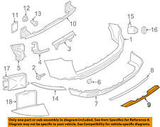 BMW OEM 14-18 X5 Rear Bumper-Lower Shield 51127378572