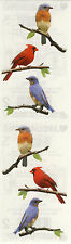 Mrs. Grossman's Stickers - Birds - Photoessence Birds on Branches - 4 Strips