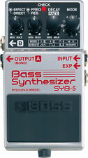 BOSS SYB-5 BASS GUITAR EFFECT PEDAL SYNTHESIZER SYB5