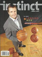 Instinct Gay Magazine Rick Welts Annual Leading Men Issue Chris Willis Style
