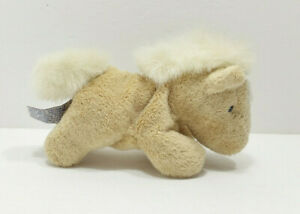 Aurora Wild Bunch Mini Horse Pony Beanbag Plush Toy Stuffed Animal Tan Beige NEW