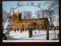 POSTCARD CUMBRIA DUFTON ST CUTHBERT