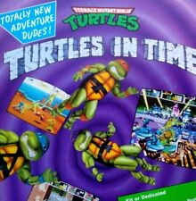 Konami Teenage Mutant Ninja Turtles In Time Arcade FLYER Original 1991 Art Print