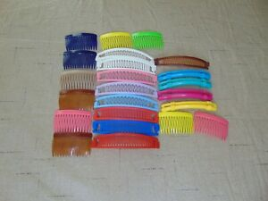 Vintage 80s Banana Clips Hair Comb Cinchers Goody Lot of 23 Accessories