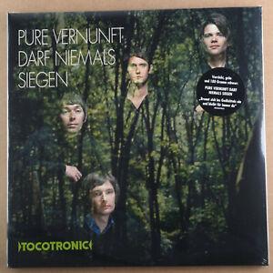 TOCOTRONIC - Pure Vernunft darf niemals siegen **green Vinyl-2LP**NEW**sealed**
