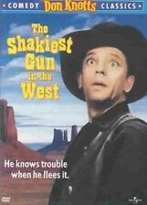 Shakiest Gun in The West With Don Knotts DVD Region 1 025192054822