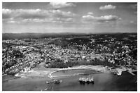 Postcard, c1955 Aerial View of Sandefjord, Norway, Photographic Reproduction i5