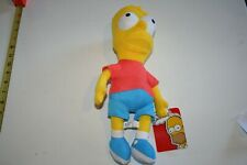 The Simpsons Bart Plush Doll Toy Factory 2018 With Tags