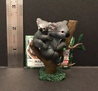 Bandai Kaiyodo Nature Zone Koala Bear & Cub Japan Exclusive PVC Figure