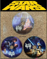 ✅ Star Wars Dvds Trilogy 4 A New Hope 5 Empire Strikes Back 6 Return of the Jedi