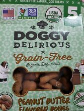 Doggy Delirious peanut Butter Flavored Bones 5 lb box