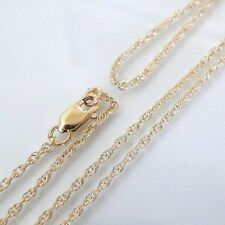 15 Inch 14k Gold Filled 1.3mm Rope Chain Necklace Assembled by Hand