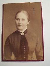 Stuttgart - Frau Pauline Ihmle geb. Stöckle - Portrait / CDV