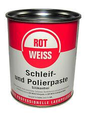 Schleif- und Polierpaste 750 ml ROTWEISS