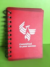 Business Card Holder With Sticky Notes Spiral Bound Book University Of Phoenix