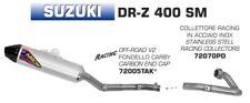 LIGNE COMPLÈTE ARROW OFFROAD V2 SUZUKI DRZ 400 SM 2005/07 - 72005TAK+72070PD