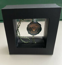 Rolex Green Seal Swing tag BRAND NEW & GENUINE In Unique Display Case