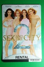 SEX AND THE CITY 2 PARKER CATTRA COVER ART MINI POSTER BACKER CARD (NOT a movie)