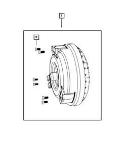 Genuine Mopar Torque Converter Kit RL078840AA