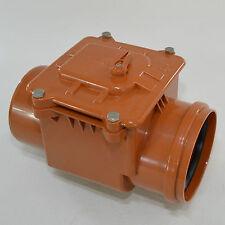 Rückstauklappe  Ø 160 mm Rückstauverschluss Rattenschutz für HT / KG Rohre
