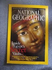 National Geographic Jan. 2003 Egypt's Secret Vaults, Great Wall China, Wildlife