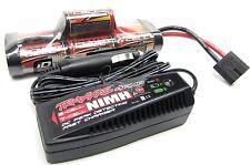 Stampede 4x4 8.4v Hump 3000Mah Battery NiHm & Peak Charger Rustler Traxxas 6708