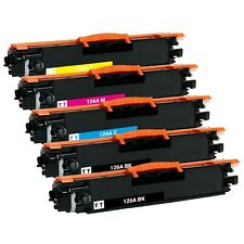 5 x 126A Toner Cartridge for HP CE310A CE311A CE312A CE313A M175nw M275 CP1025NW