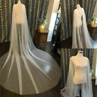 Tulle Bridal Capes Wedding Cloaks Cathedral Length White Ivory Jackets Wrap