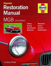 HAYNES MG RESTORATION BOOK MGC GT MGB V8 Owners Manual Repair Service Handbook