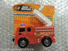 ROAD RIPPERS Plastic Toy Model FIRE TRUCK Mini City Vehicles 1/43 Scale