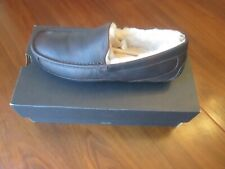 UGG Ascot LEFT SHOE ONLY Slipper - Tea Leather Size 10 Shearing Lined NOS w/Box